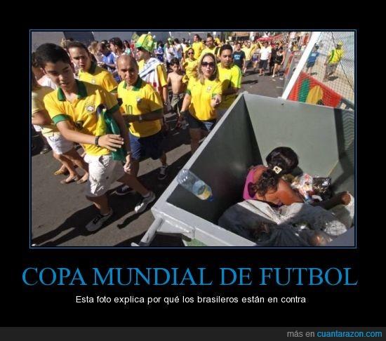 2013,brasil,brazil,capitalismo,copa,democracia,educación,futbol,hambre,manifestación,mundial,pobreza,policia,sanidad