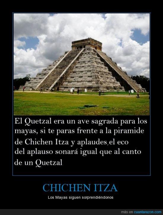 chichen itza,mayas,mexico,pajaro,palma,piramidesonido