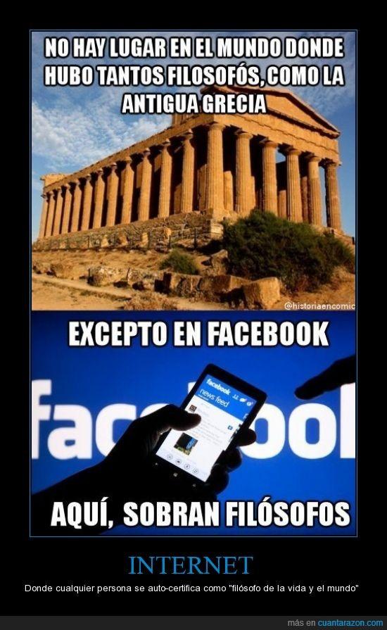 facebook,filosofos,nadie lo es,pensamientos,redes sociales