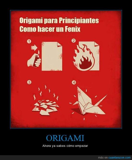 arder,ceniza,cenizas,fenix,fuego,grulla,origami