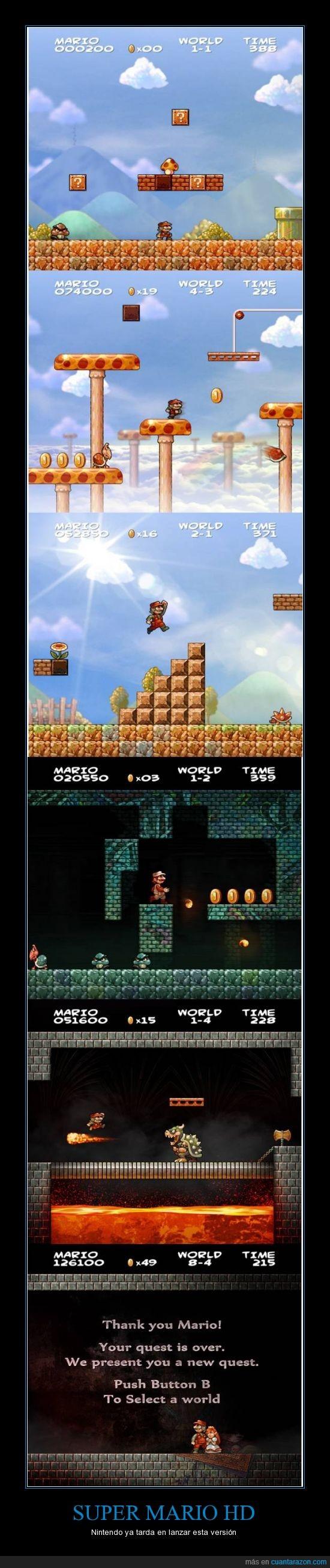 Gamers,HD,Mario,Nintendo,Super Mario,Videojuegos