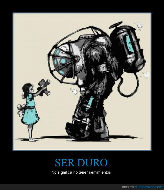 big daddy,bioshock,delta,little sister,sentimientos