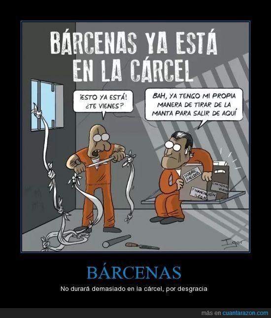 barcenas,cárcel,corrupción,España,financiación ilegal,PP,sobresueldos