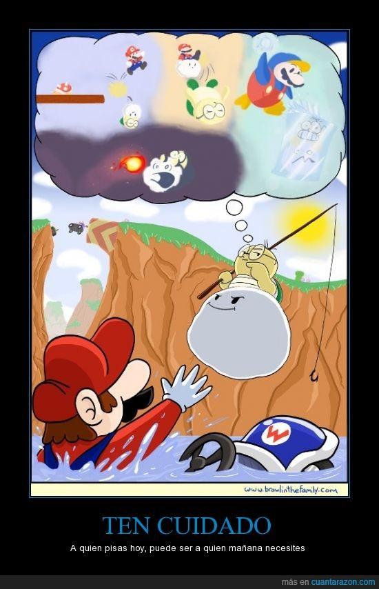 Mario Kart,salvar,Ten Cuidado,Venganza