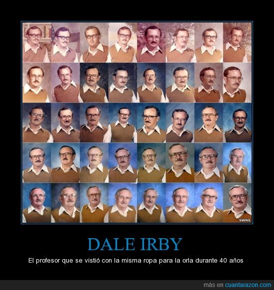 40años,dale,irby,jersey,profesor