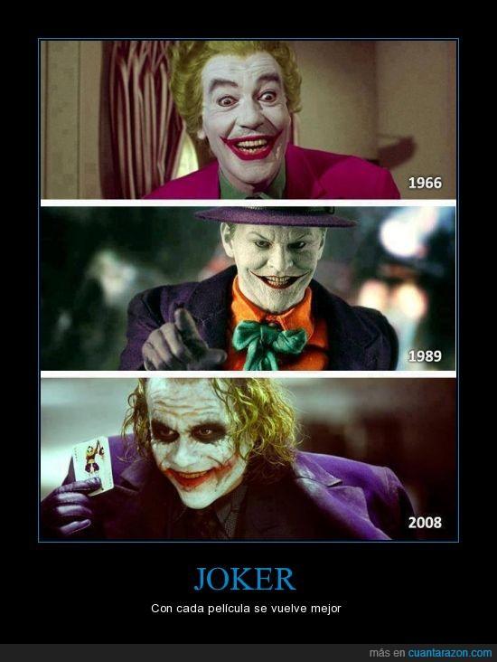 batman,batman serie 60s,el primero ni lo conozco,heath ledger,jack,joker,the dark knight