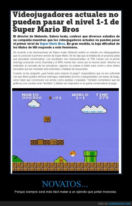 Dificultad,Gamer,Mario,Super Mario