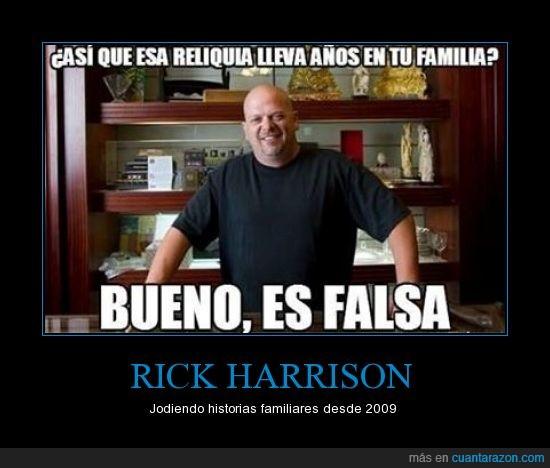 El Precio de la Historia,falsa,familiar,La Casa de Empeños,pawn stars,reliquia,Rick