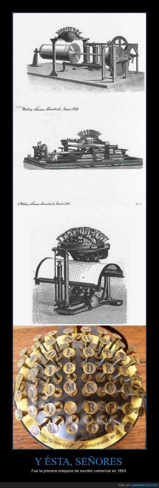 bola,escritura,máquina de escribir,Mecanografía,primera,siglo XIX