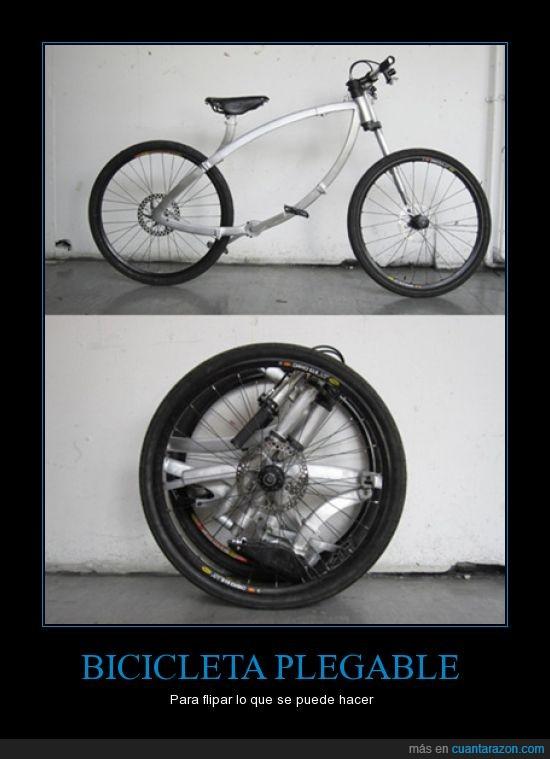 bicicleta,plegable,rueda