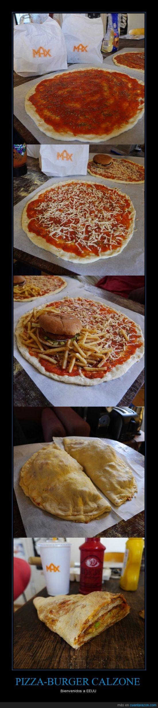 arterias,calorías,calzone,comida,fritas,gordo,hamburguesa,max,papas,pizza,queso