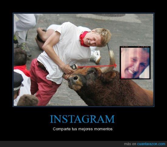 instagram,san fermines,Sanfermín,toros