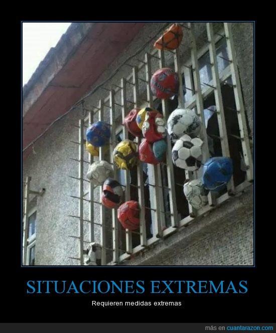 pelotas,ventana