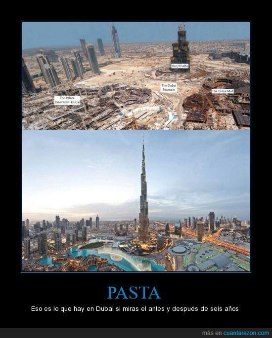 antes,construcciones,después,dubai,evolución