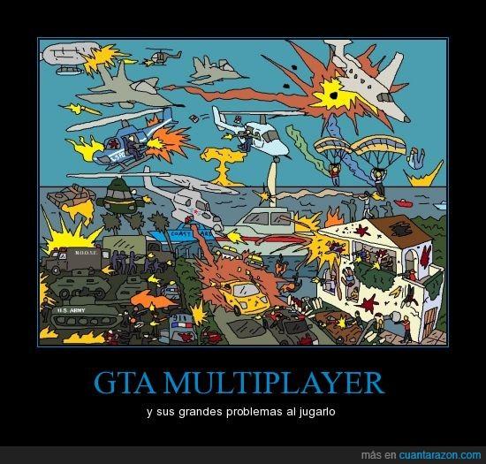 destruccion,gta,multiplayer,trucos,videojuegos