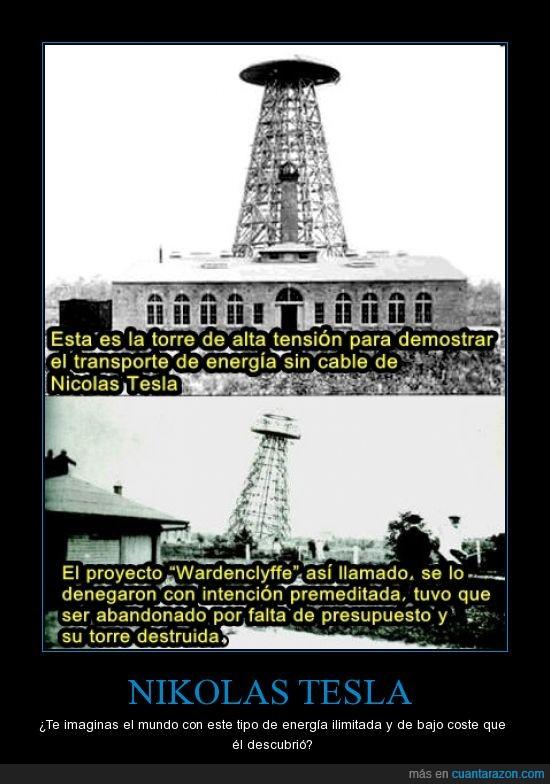 invento,Nikolas Teslas,solucion al mundo