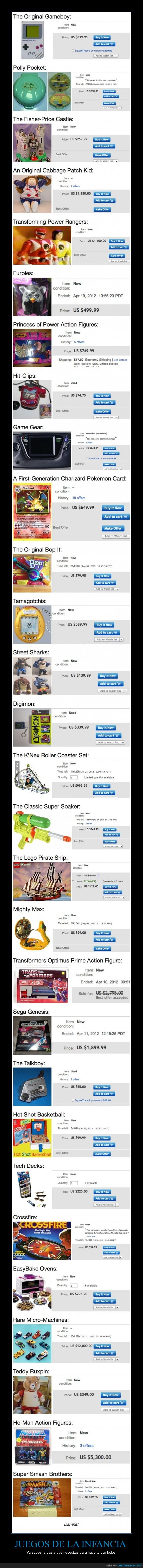 comprar,ebay,infancia,juegos,subastas