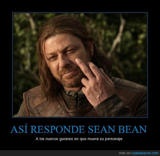 Boromir,Eddard Stark,ESDLA,Juego de Tronos,peineta,Sean Bean
