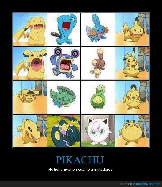 imitador,pikachu,pokemon,varios