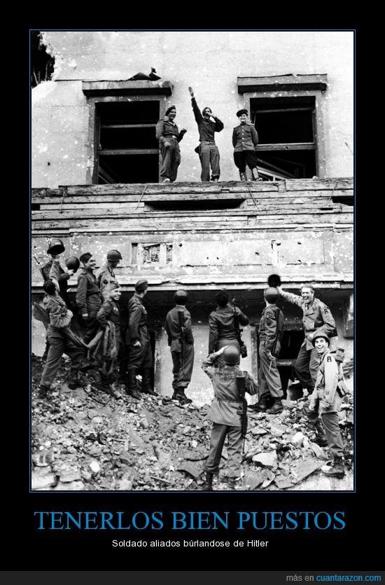 alemanes,aliados,hitler,segunda guerra mundial,soldados