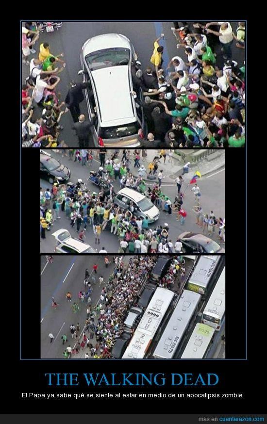Brasil,Papa,walking dead