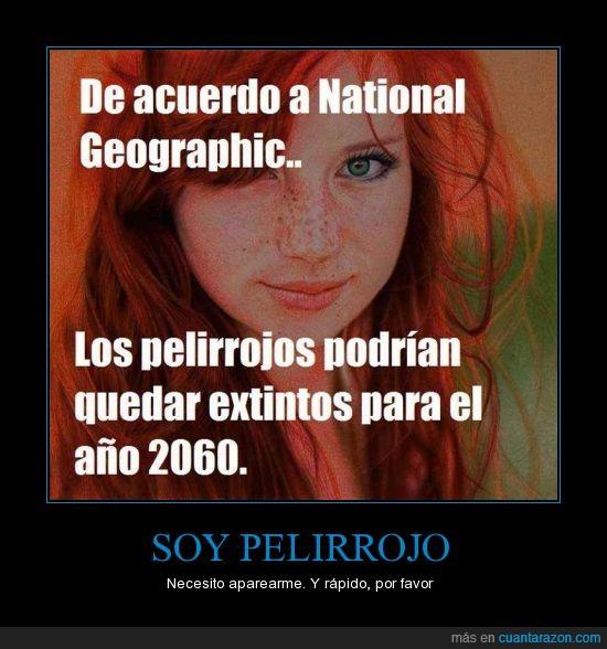 2060,aparear,national geographic,pelirrojo