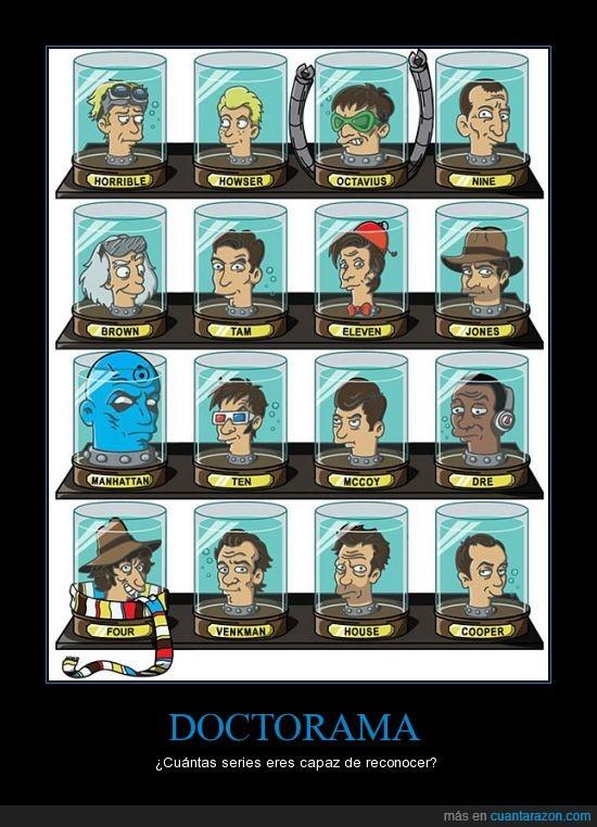 cabezas,Doctor,Futurama