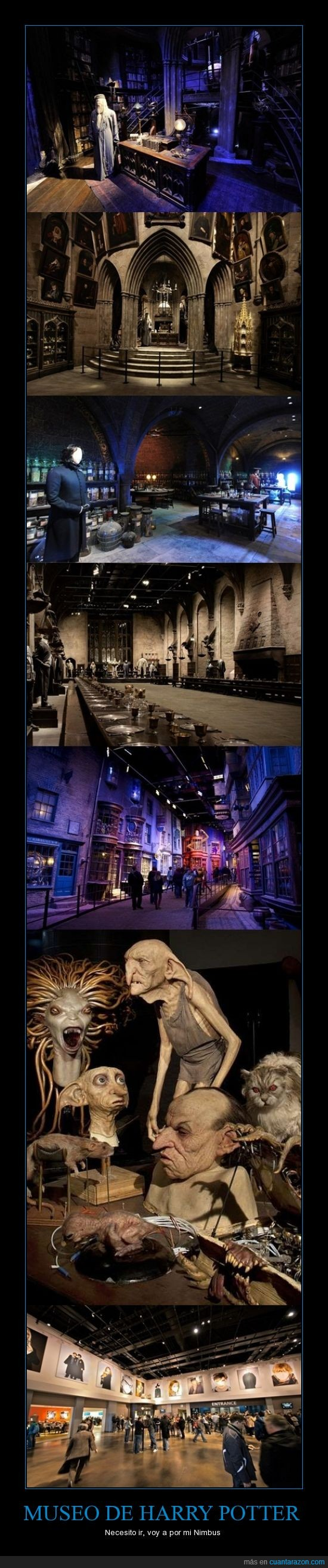 Harry Potter,Londres,Museo