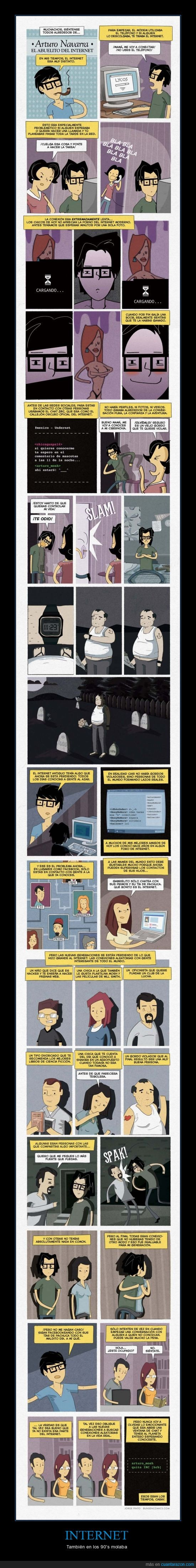 90s,años,antiguo,chat,desconocido,friki,Internet,IRC