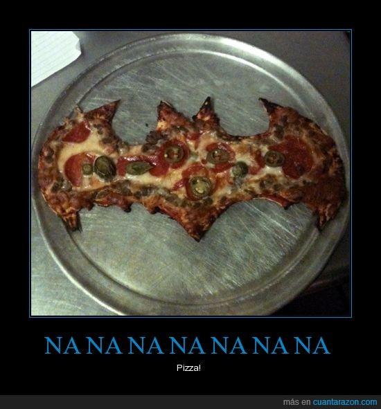 batman,murcielago,Pizza,simbolo