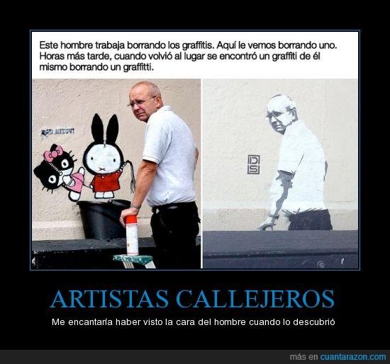 graffiti,hombre,pared,pinta,pintar,señor,tapar,trabajador