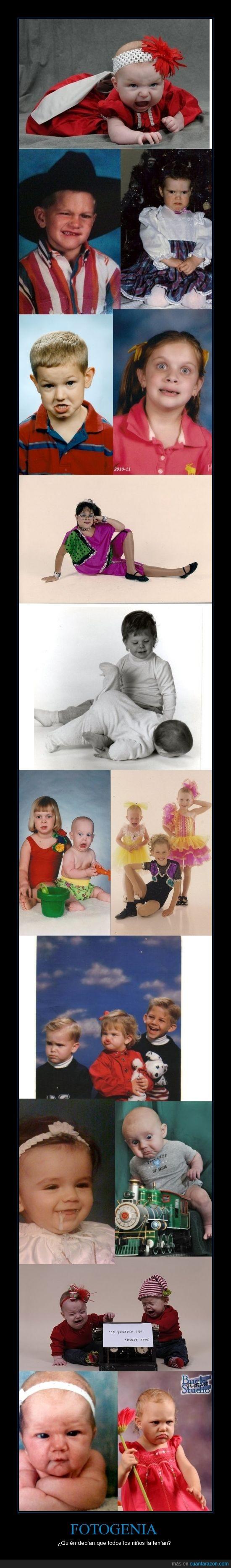 bebes,fotogenia,fotogénicos,fotos,humor,niños
