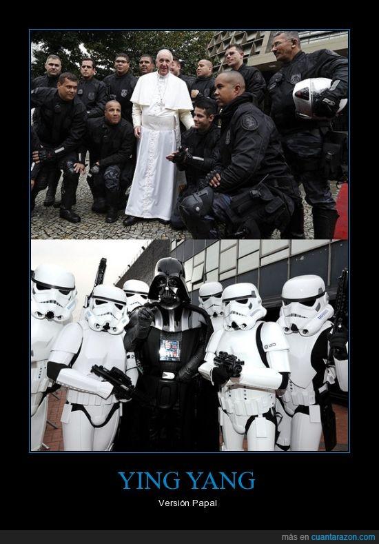 Paco,Papa,Star Wars,Vader