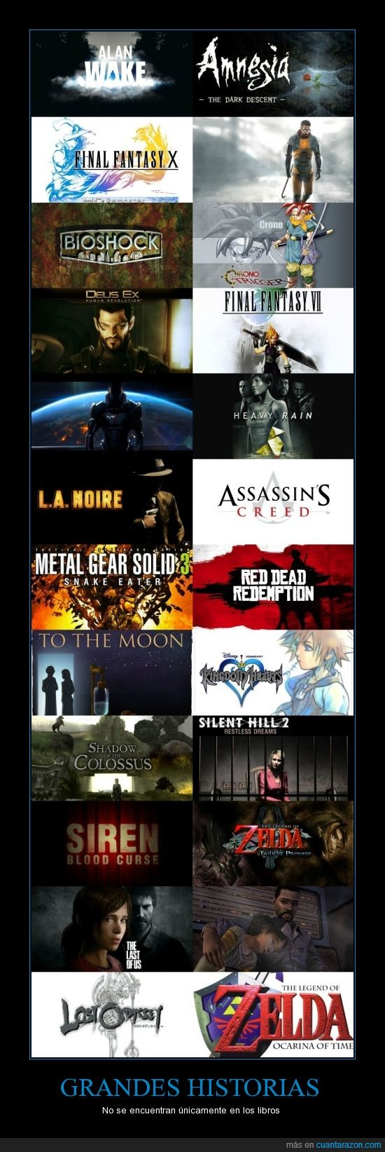 historia,narrativas,trama,videojuegos
