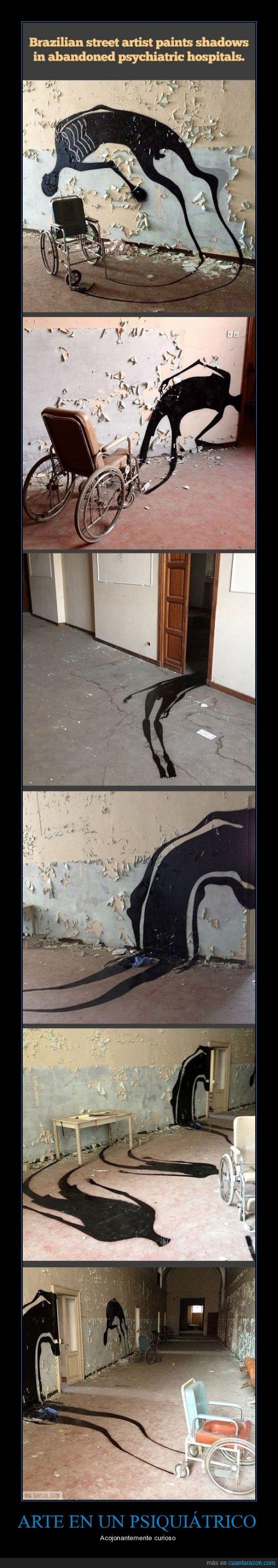 acojonante,arte callejero,artista,brasil,fantasmas,psiquiatrico