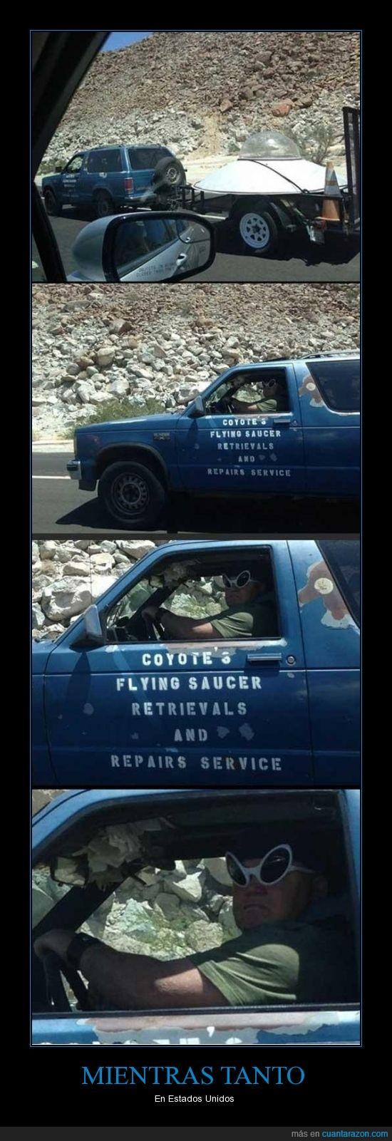 alien,camioneta,eua,ovni