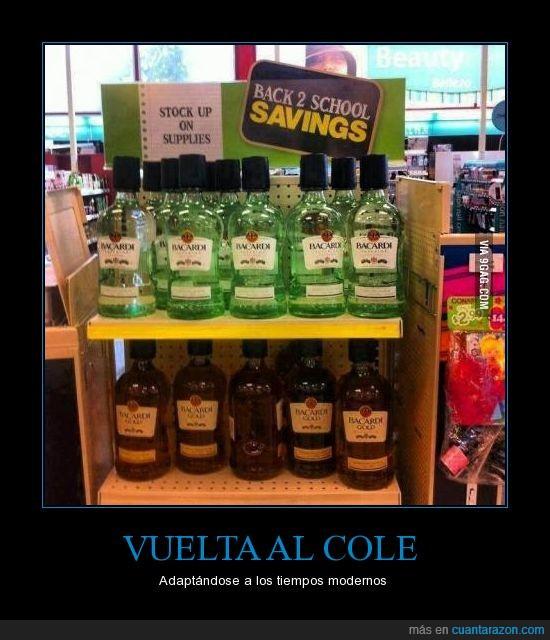 alcohol,cole,ofertas,supermercado,verano,vuelta