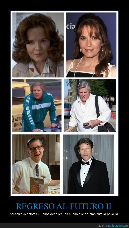 30 años después,Delorean,Leah Thompson,Marty McFly,me siento viejo,Regreso al futuro
