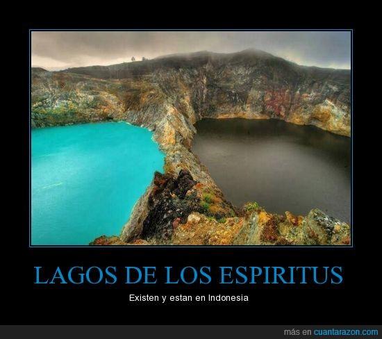 azul,espiritus,indonesia,lagos,negro