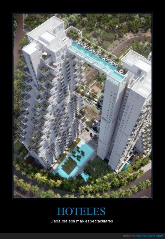 bajar,edificio,hotel,increible,paso de peatones,Singapur