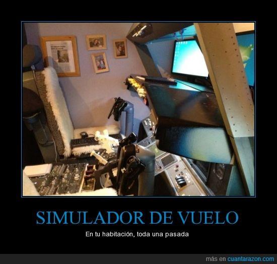 habitacion,invento,simulador,vuelo