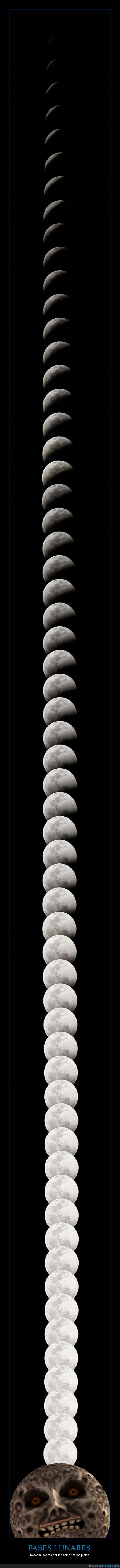 3 dias,fases lunares,foto de infarto,Luna,Majora's Mask,The Legend of Zelda