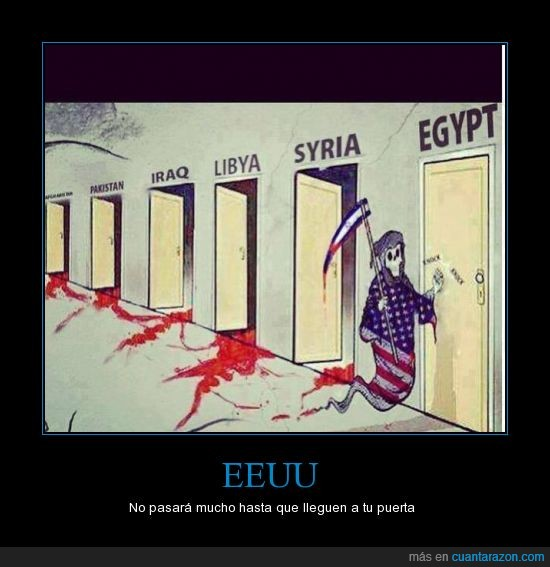afganistan,democracia,eeuu,egipto,estados unidos,irak,muerte,sangre,siria