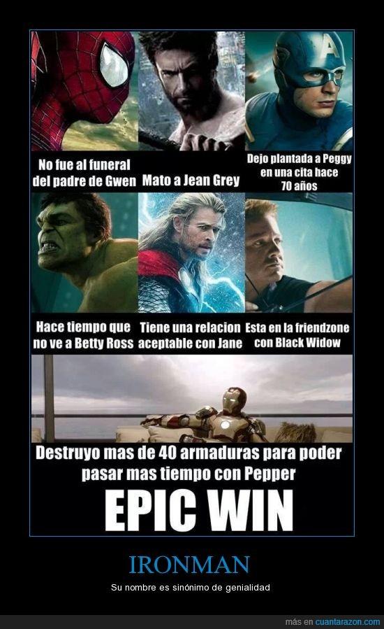 amor,armadura,avengers,chica,cita,epic win,excéntrico,hawkeye,hulk,Iron man,millonario,superhéroes,thor,vengadores