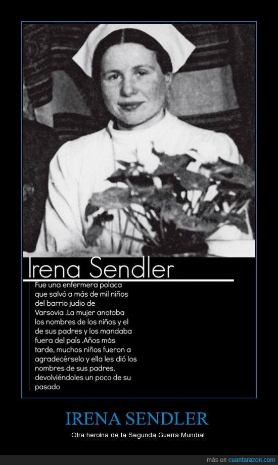 enfermera,heroína,irena sendler,judios,niños,segunda guerra mundial