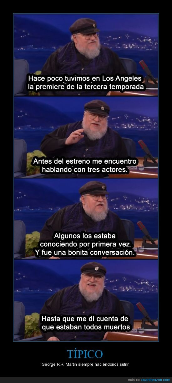 Game Of Trones,George R R Martin,Muerte