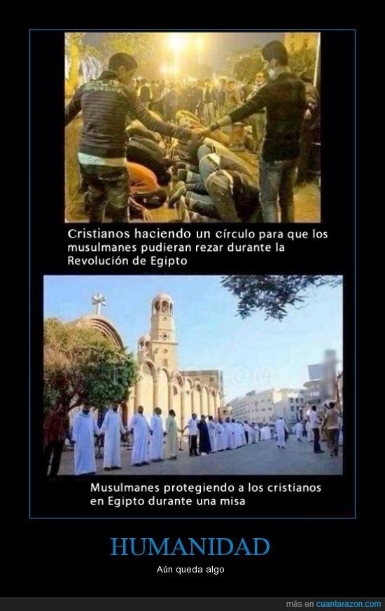 cristianos,egipto,guerra,musulmanes,rezar