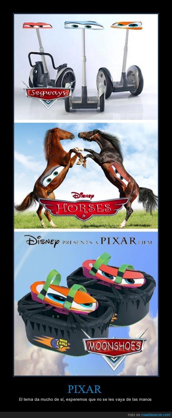 car,pixar,planes,segways