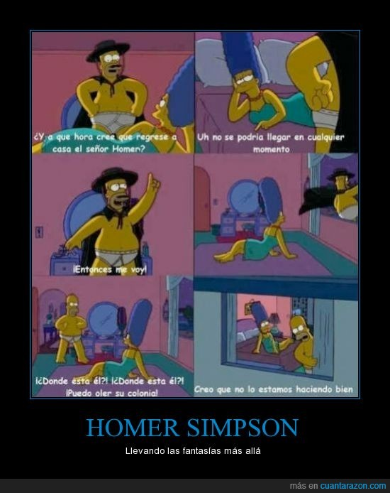 amante,colonia,dormitorio,fantasia,the simpsons