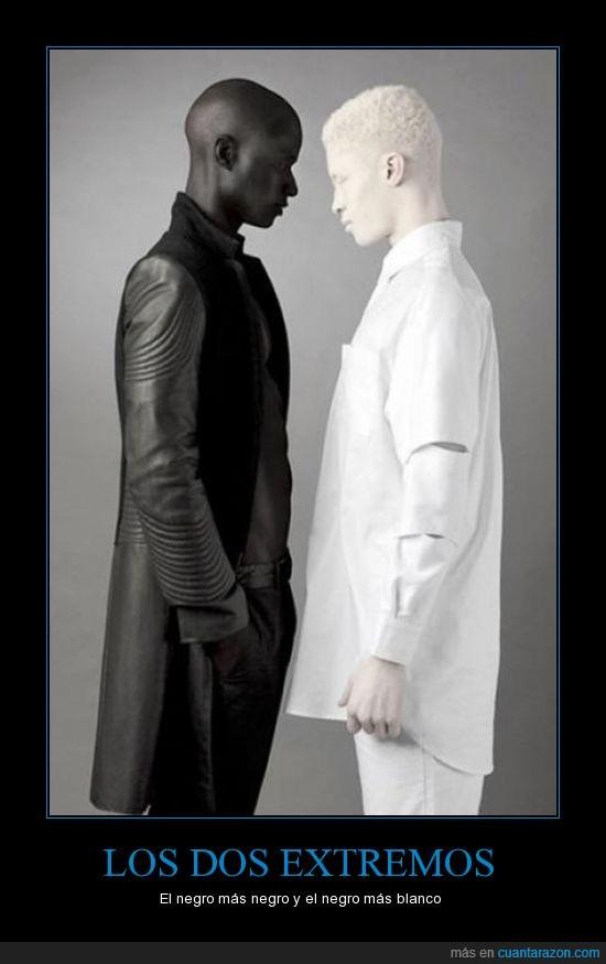 albinismo,blanca,ciego,encuentro,negra,no al racismo,ropa,superbuffon